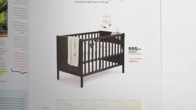 Ikea wants pregnant women to pee on their ad. Seriously.