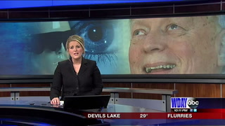 Horace man learns to see again with bionic eye