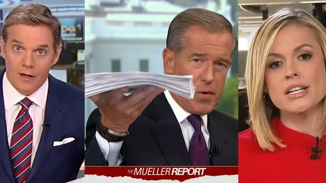 How cable news covered the Mueller report release