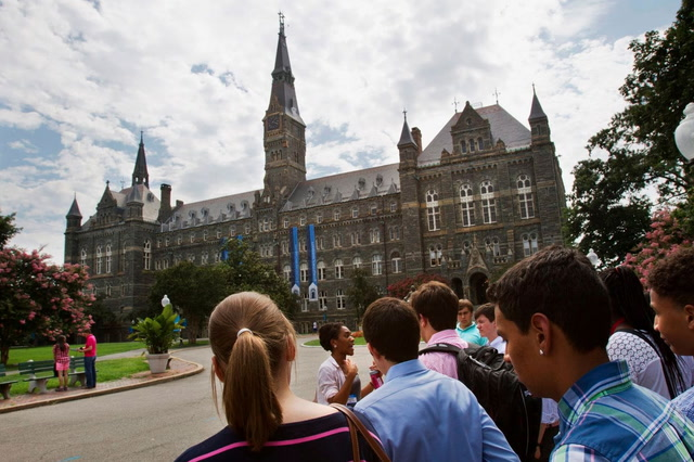 Georgetown University students vote for on-campus reparations fund