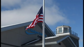 Two Harbors Federal Credit Union Open House and Flag Raising