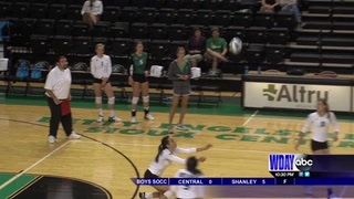 UND Volleyball holds intersquad scrimmage