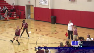 H.S. Volleyball: Shanley sweeps Davies