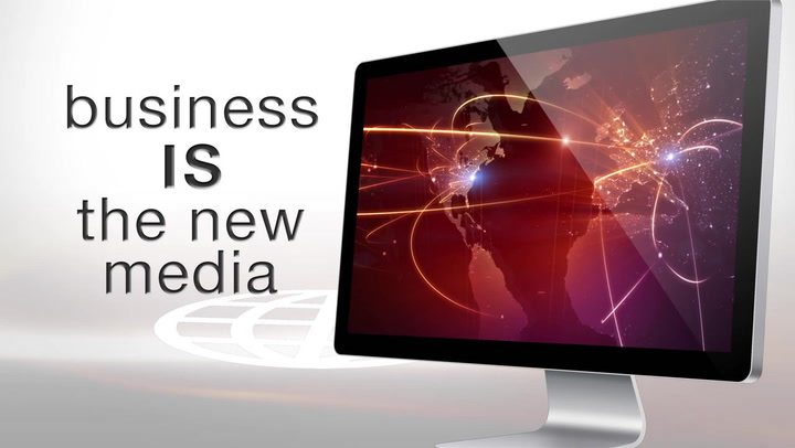 Business is the new media