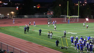St. Scholastica's Aaron Olson receives four touchdowns in one game