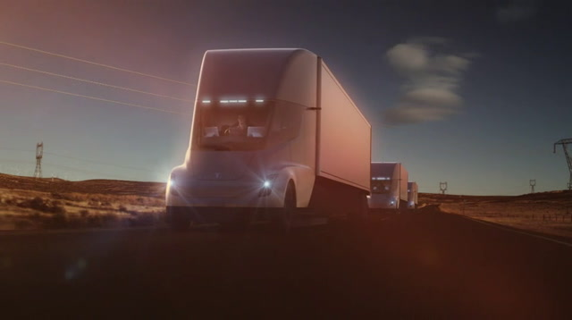 Raw: Tesla Introduces New Electric Truck