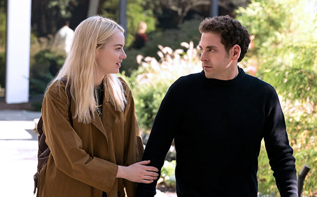 First Photos Of Netflix's New Comedy Maniac Starring Jonah Hill And Emma Stone