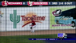 RedHawks snap six game winning streak with loss to Winnipeg