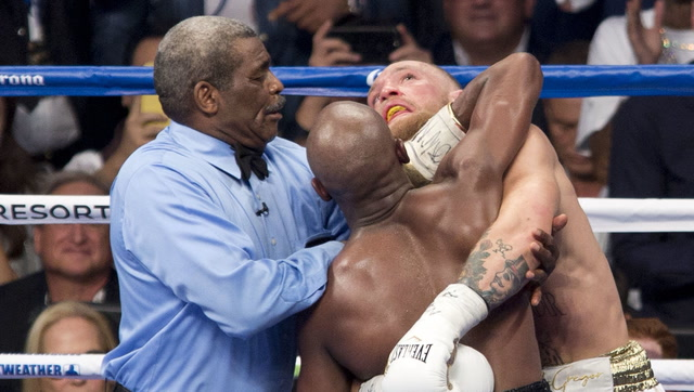 Undefeated Floyd Mayweather picks up 50th career win