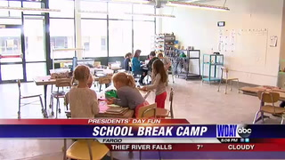 Plains Art Museum hosts 'School Break Camp' for Presidents' Day