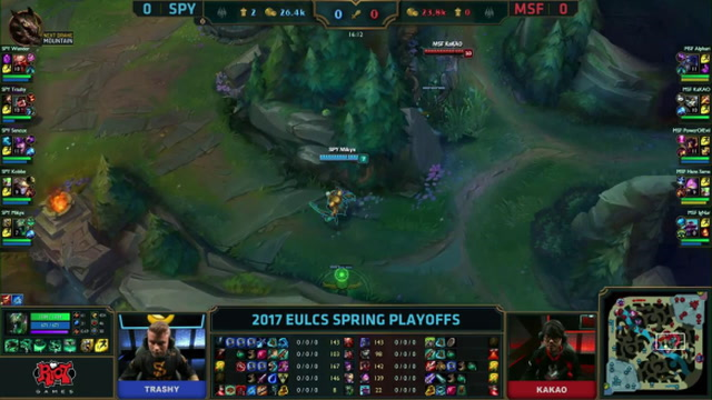 EU LCS Spring Playoffs - First Blood into Mid turret