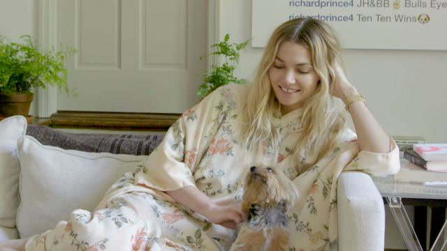 A Dog's Eye View of 1 Opulent Supermodel Home