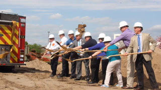 Central Fire Station groundbreaking