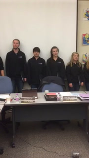 Cloquet madrigals perform at school board meeting