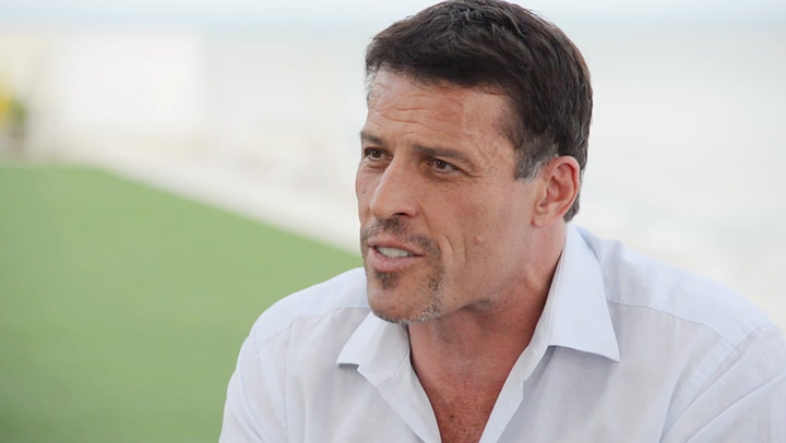 Tony Robbins On Hunger, Disappointment, And 3-D Printing