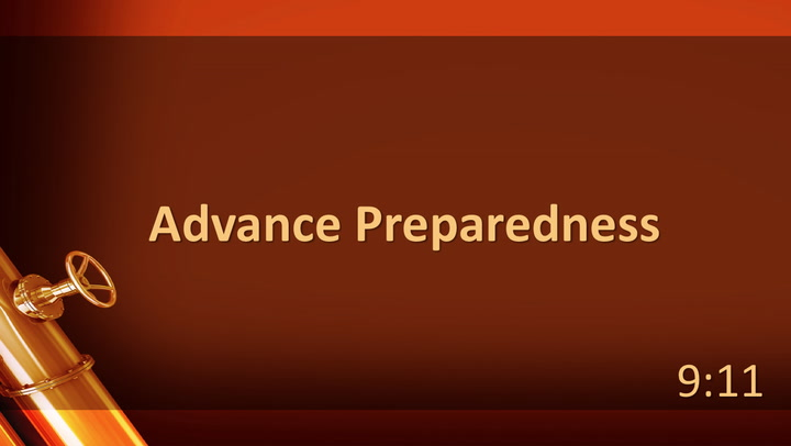 06 Practical Pipelines Advance Preparedness - Baylor