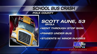 Crash In Polk County Injures Students On School Bus