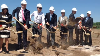 TRIA groundbreaking, Woodbury