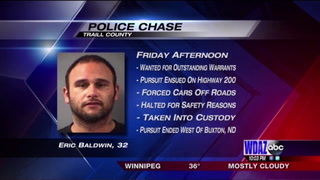 Man forces cars off of road, leading police to pursue across state borders