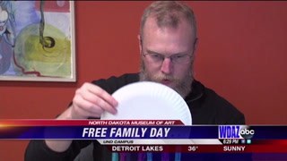 Free Family Day at North Dakota Museum of Art