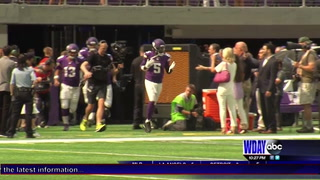 Vikings players impressed with new stadium
