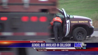 School bus and SUV collision Tuesday morning