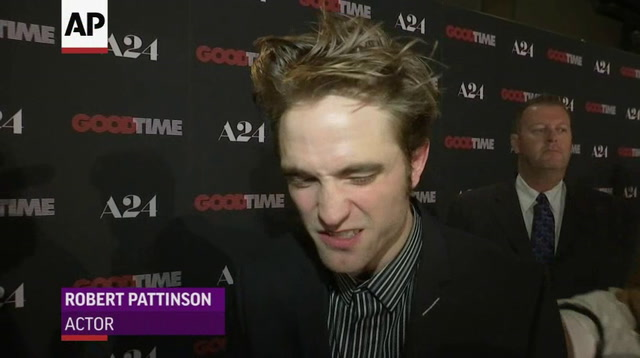 Robert Pattinson on starring in 'Good Time'