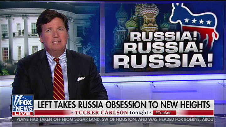 Tucker Carlson: 'For All His Faults' Putin Doesn't Hate America as Much as Chuck Todd Does