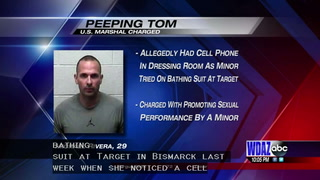U.S. Marshal charged for peeping in Bismarck Target dressing room