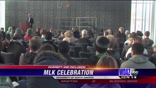 Hundreds gather at UND to discuss equality on MLK Day