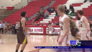 Red River edges South for first win of the season