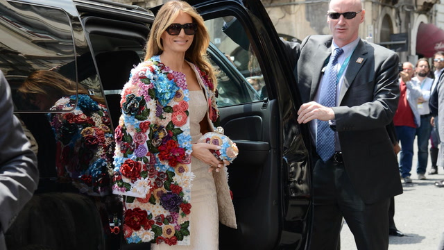 Aesthetics first, Melania Trump's public profile