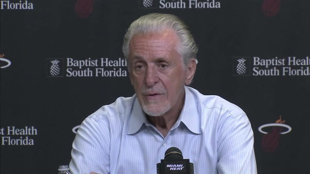 Pat Riley press conference (Part 3 of 3): On unconditional roster, activism among players