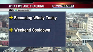 Tracking A Windy Thursday Afternoon- Evening
