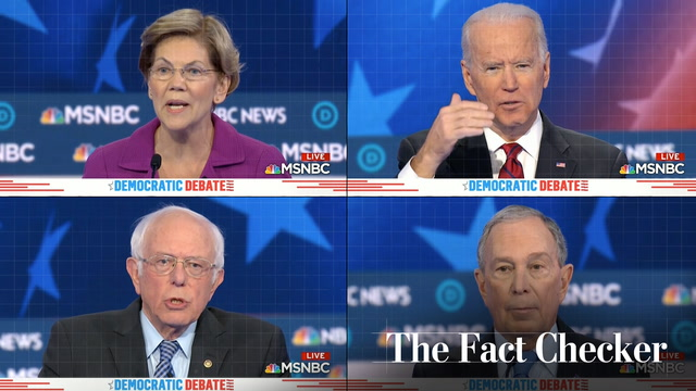 Fact-checking the ninth Democratic primary debate
