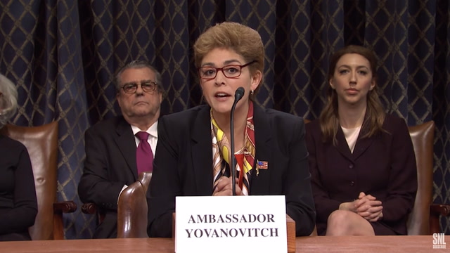 SNL gives the impeachment hearings a soap-opera spin