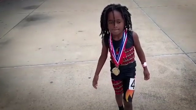 Meet the 7-year-old that's way faster than you