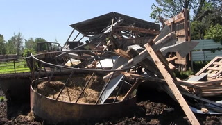 Man recounts tornado in near Jacobson, Minn.