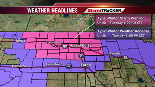 StormTRACKER Forecast: Snow Arriving This Evening