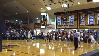 VIDEO: Tate Martin game winning shot against Doane