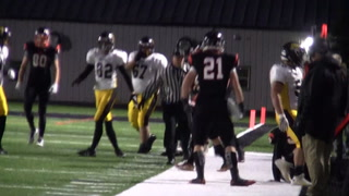 Kernels dominate in 59-0 win over Huron in regular season finale