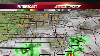 Morning Showers & T-storms Mainly South
