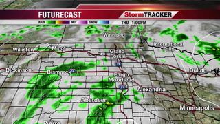 Showers and Thundershowers Later Today