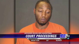 Man involved in officer involved shooting makes second court appearance