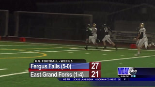 First Down Friday: Detroit Lakes, Fergus Falls, Waubun pick up big wins