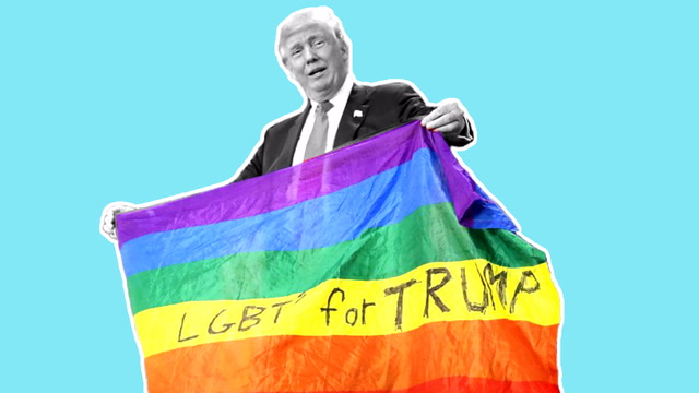 Opinion | President Trump says he supports LGBTQ Americans. His record says otherwise.