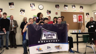 Super School Breakfast grant at WHS