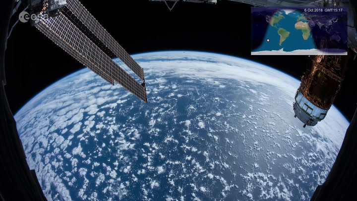 Zip Around the Globe Twice in 15 Minutes in the Longest Space Time Lapse