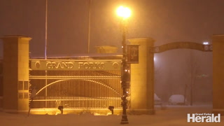 Heavy Snow throughout Grand Forks County