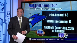 WDAY Fall Camp Tour: Jamestown Blue Jays 2017 Preview